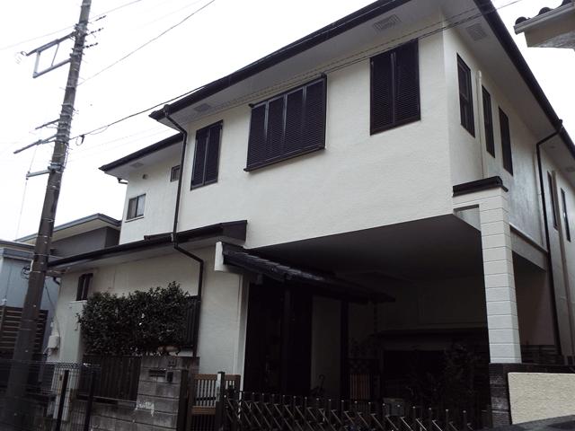 千葉県船橋市の外壁塗装屋根塗装の施工実績 施工後