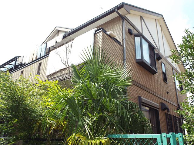 埼玉県春日部市の外壁塗装屋根塗装 デザイン塗装の施工事例 施工前