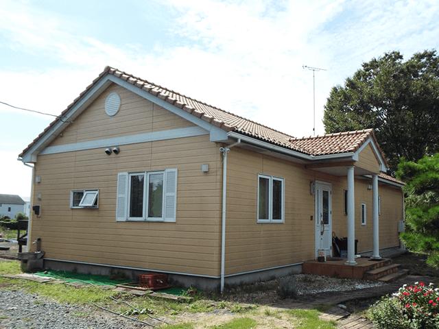 栃木県宇都宮市の外壁塗装 K様邸 施工事例 施工前の写真