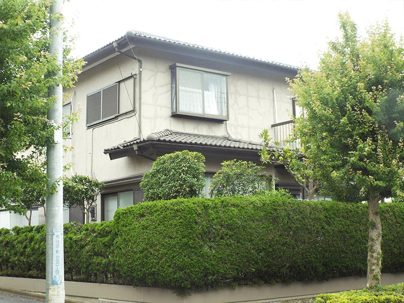 外壁塗装工事 施工前写真