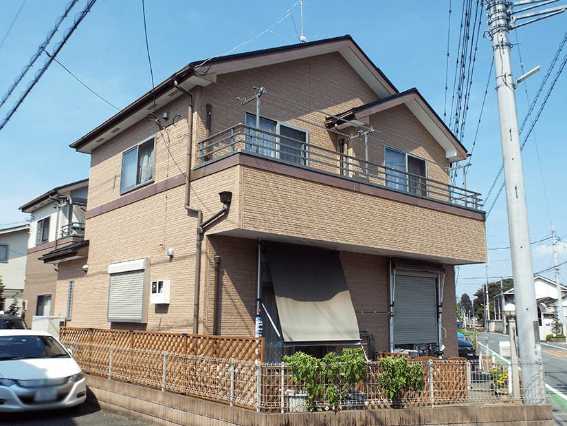 川越市の外壁塗装施工事例 施工後写真
